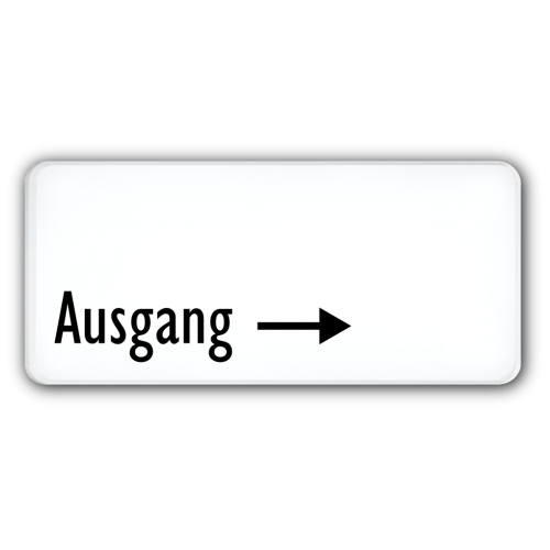 Ausgang (Pfeil rechts)