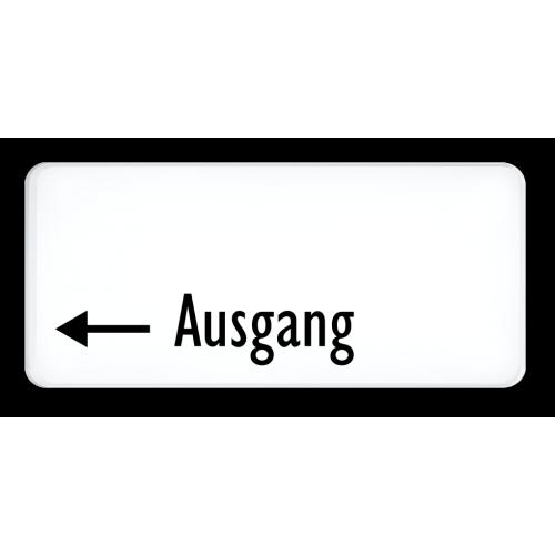Ausgang (Pfeil links)
