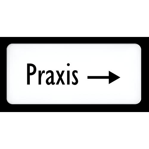 Praxis (Pfeil rechts)