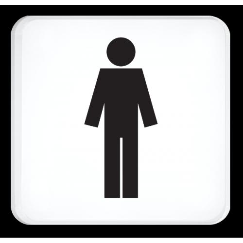 WC Herren (Symbol)