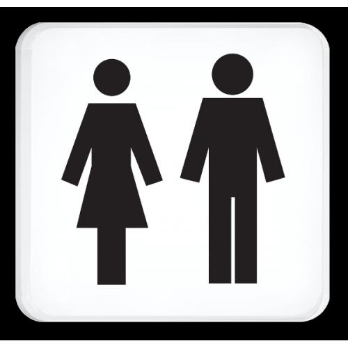 WC Damen und Herren (Symbole)