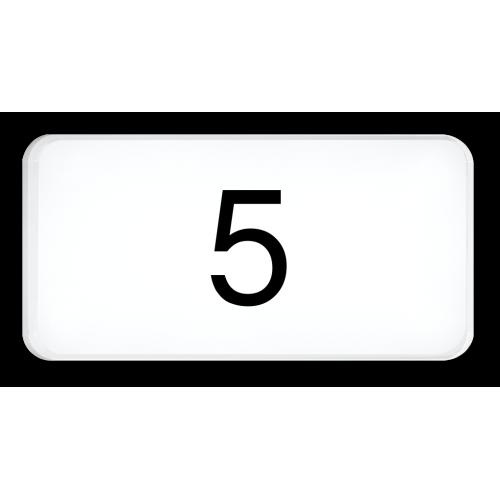 5 (nur Zahl)