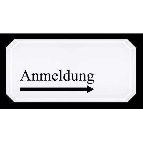 Anmeldung (Pfeil rechts)