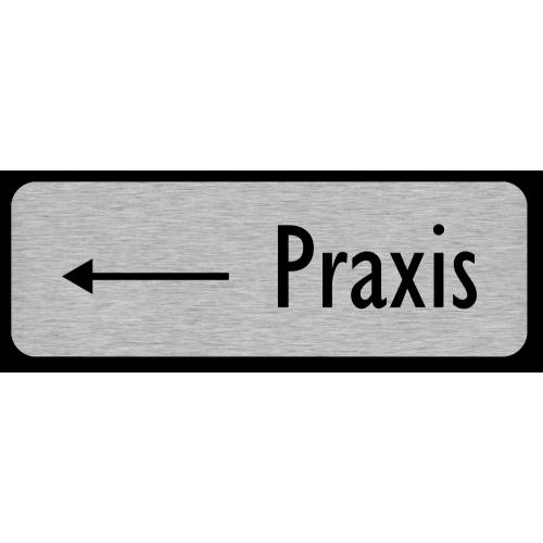 Praxis (Pfeil links)