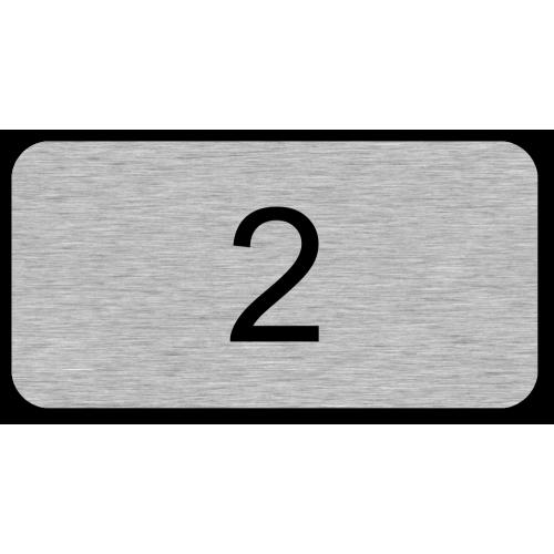 2 (nur Zahl)