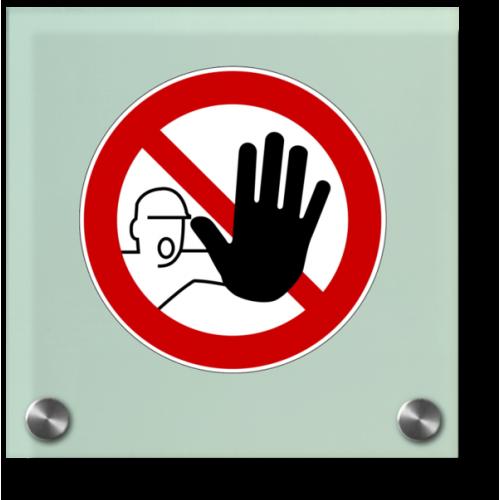 Durchgang verboten (Symbol)