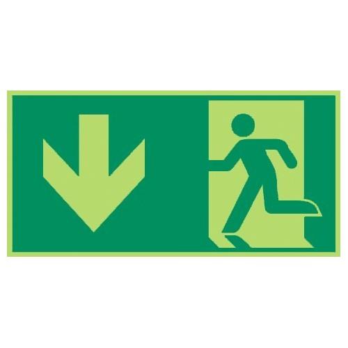 Rettungsweg durch Notausgang - E001