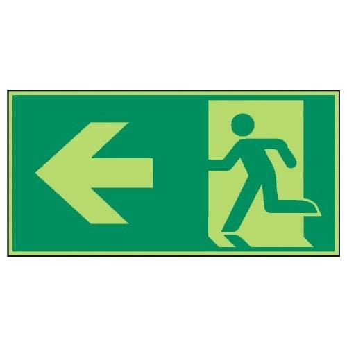 Rettungsweg links - E001