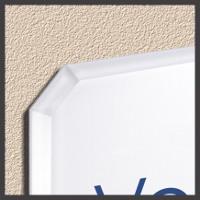Detailbild Innenschild auf Montageplatte
